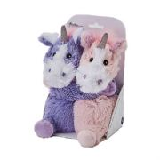 Warmies Cozy Plush Warm Hugs Unicorns